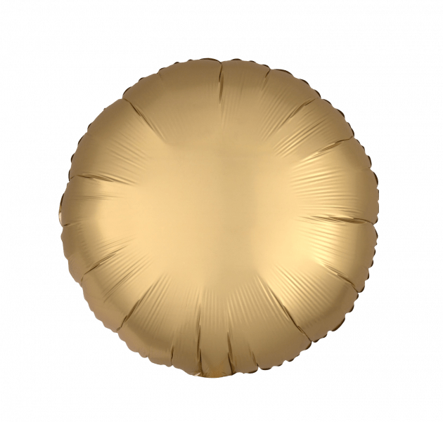 Circle satin gold – Flower shop STUDIO Flores