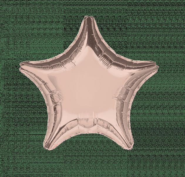 Звезда розовое золото – Интернет-магазин цветов STUDIO Flores