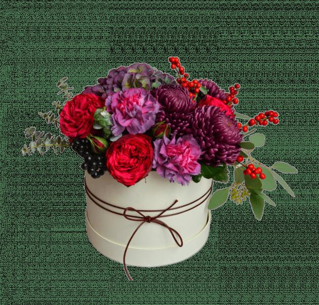 Букет Ягоды на снегу – Интернет-магазин цветов STUDIO Flores