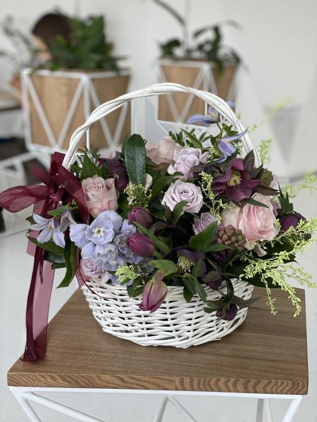 Букет двенадцать месяцев – Интернет-магазин цветов STUDIO Flores