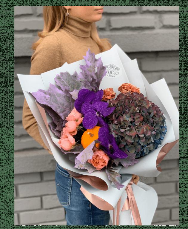 Букет 'Дары осени' – Интернет-магазин цветов STUDIO Flores