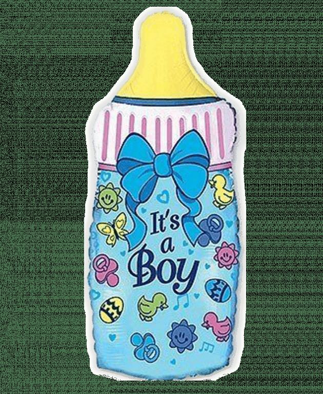 """Пляшечка """"Хлопчик"""" – Інтернет-магазин квітів STUDIO Flores"""