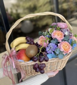 Basket of health – Flower shop STUDIO Flores