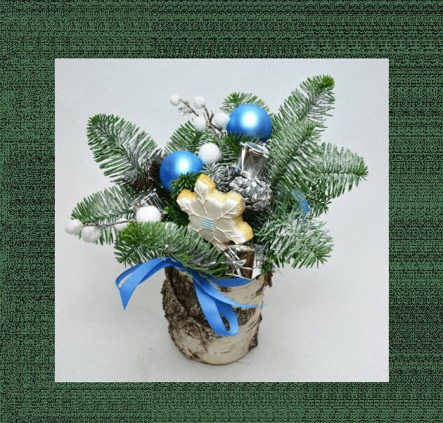Букет Зимовий ліс – Інтернет-магазин квітів STUDIO Flores