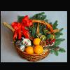 Кошик Новорічний – Інтернет-магазин квітів STUDIO Flores