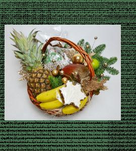 Корзина с вкусностями – Интернет-магазин цветов STUDIO Flores