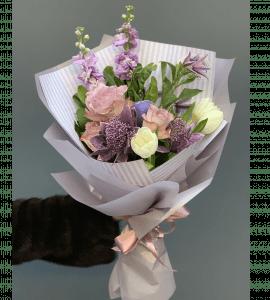 Букет Морозное утро – Flower shop STUDIO Flores