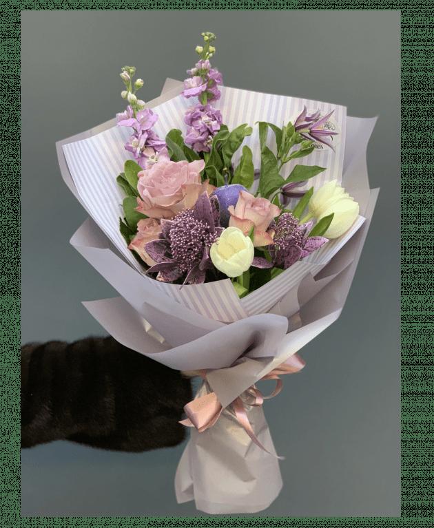 Букет Зимовий ранок – Інтернет-магазин квітів STUDIO Flores