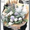Букет Заснеженные вершины – Flower shop STUDIO Flores