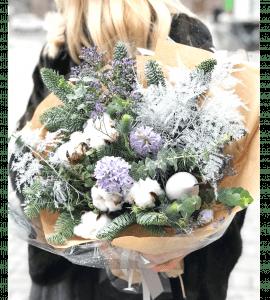 Букет Заснеженные вершины – Интернет-магазин цветов STUDIO Flores