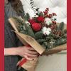 Букет Счастливое Рождество – Flower shop STUDIO Flores