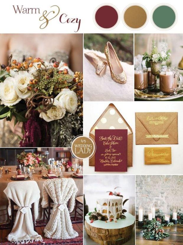 Свадьба в цвете марсала – изображение 31 – STUDIO Flores