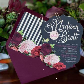 Свадьба в цвете марсала – изображение 7 – STUDIO Flores