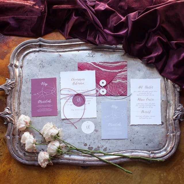 Свадьба в цвете марсала – изображение 2 – STUDIO Flores