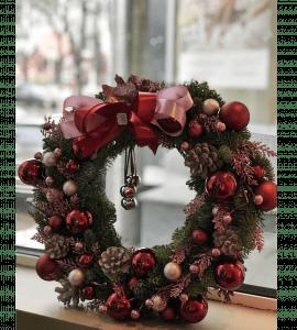 Wreath with bells – Flower shop STUDIO Flores