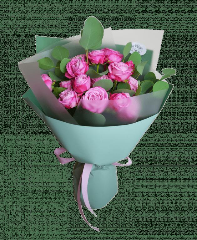 Букет Розовый этюд – Интернет-магазин цветов STUDIO Flores