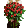 Букет пятьдесят одна и сто одна роза Эль Торо – изображение 2 – Интернет-магазин цветов STUDIO Flores