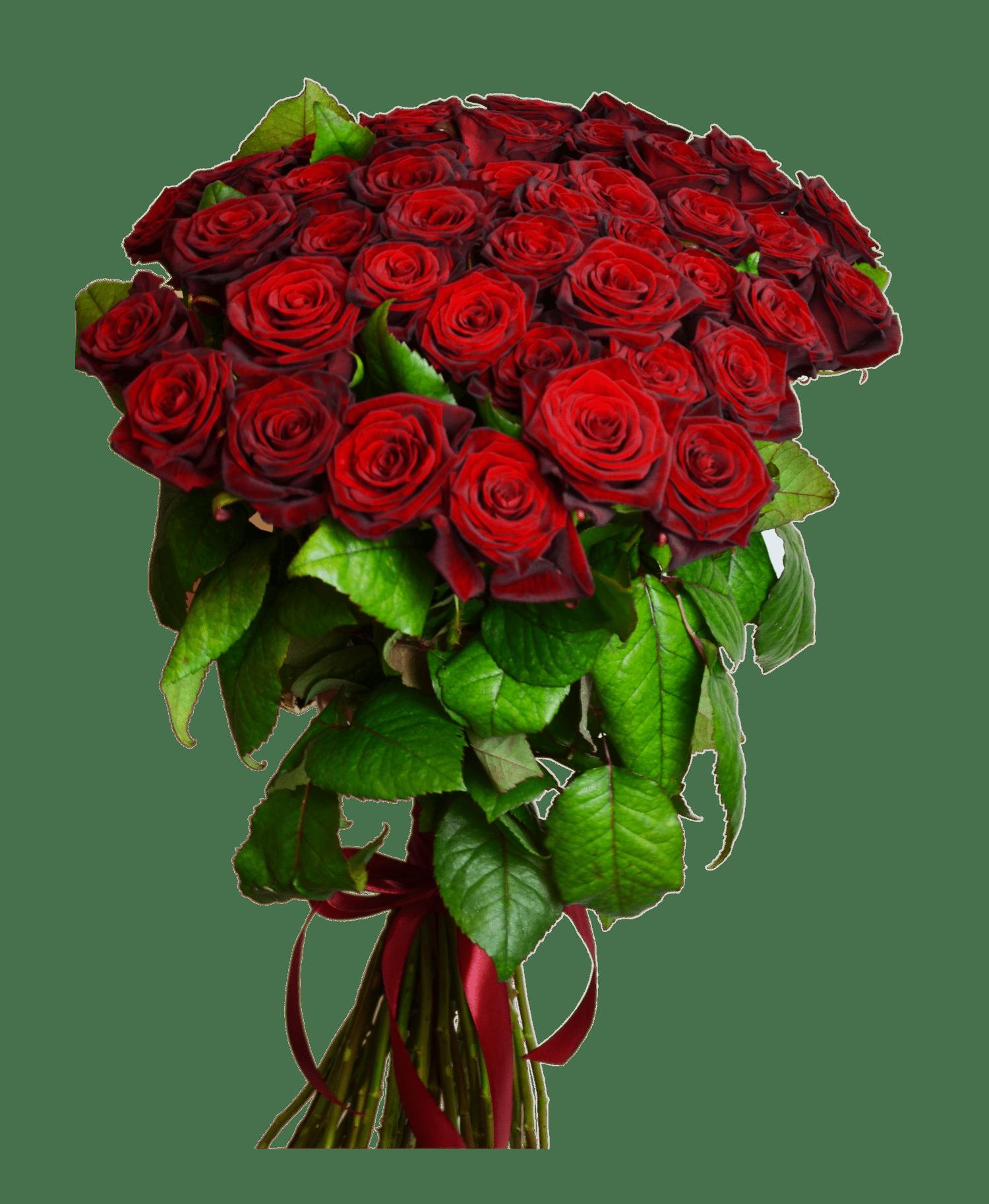 18b614f93f911f Замовити букет квітів Букет 51 червона троянда з доставкою по Києву ...