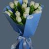 15 white tulips – Flower shop STUDIO Flores