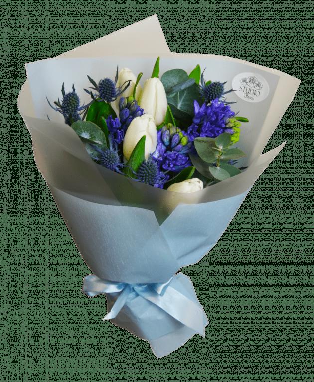 Букет Белоснежка – Интернет-магазин цветов STUDIO Flores