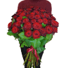 51 red roses – image 2 – Flower shop STUDIO Flores