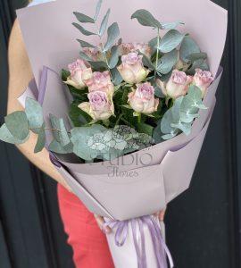 Букет одинадцать роз Мемори – Интернет-магазин цветов STUDIO Flores