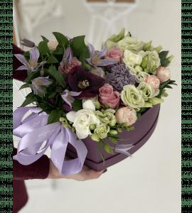 Букет Любящее сердце – Flower shop STUDIO Flores