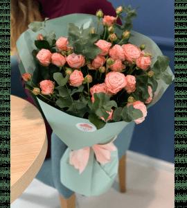 Букет Розовый этюд – Інтернет-магазин квітів STUDIO Flores