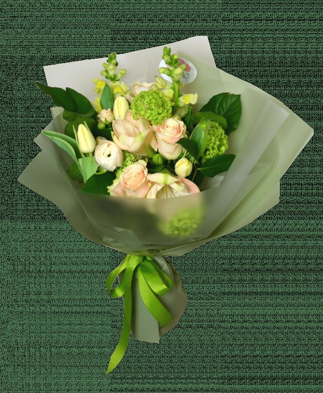 Creamy grace – Flower shop STUDIO Flores