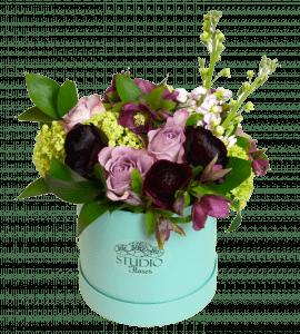 Букет Завтрак у Тиффани – Интернет-магазин цветов STUDIO Flores