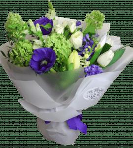 Букет с анемонами – Flower shop STUDIO Flores