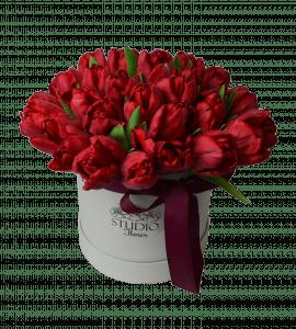 Роскошь тюльпанов – Интернет-магазин цветов STUDIO Flores