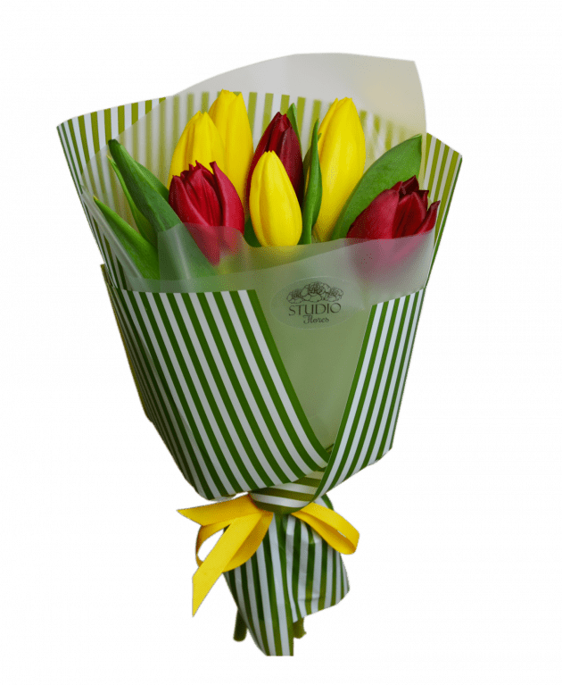 Bouquet of tulips – Flower shop STUDIO Flores