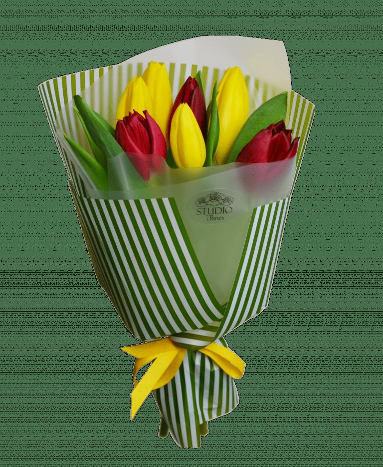 Bouquet of tulips – Flower shop STUDIO Flores