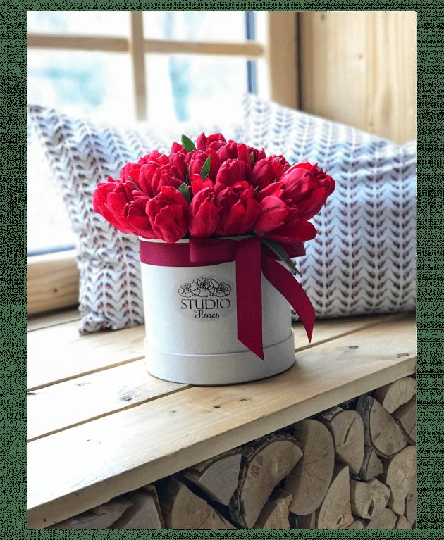 Букет Роскошь тюльпанов – Интернет-магазин цветов STUDIO Flores