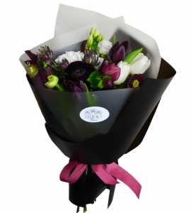 Букет Черная пантера – Інтернет-магазин квітів STUDIO Flores