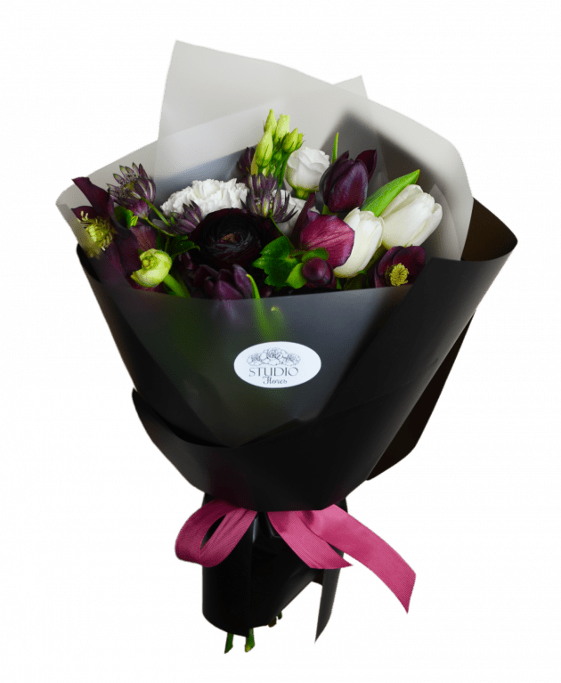 Букет Черная пантера – Интернет-магазин цветов STUDIO Flores