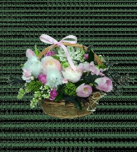 Пасхальная корзина – Flower shop STUDIO Flores