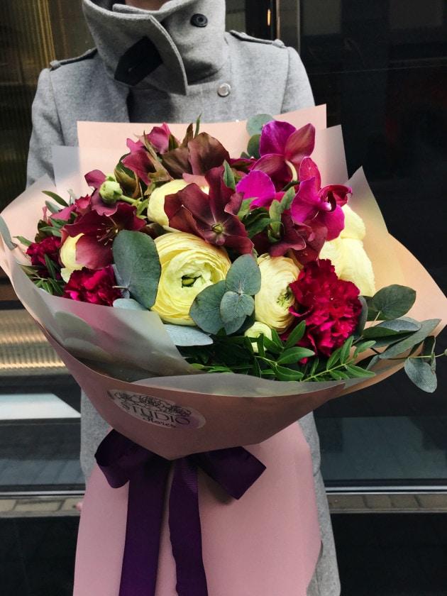 Букет Мон Сеньор – Интернет-магазин цветов STUDIO Flores