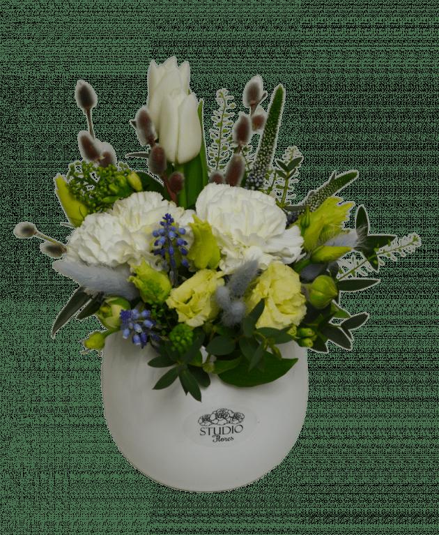 Букет Белоснежное очарование – Интернет-магазин цветов STUDIO Flores