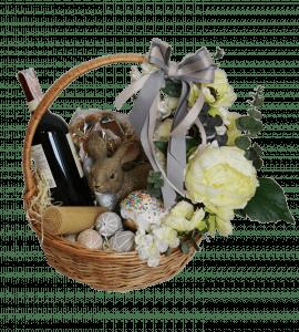 Пасхальная корзина – Интернет-магазин цветов STUDIO Flores