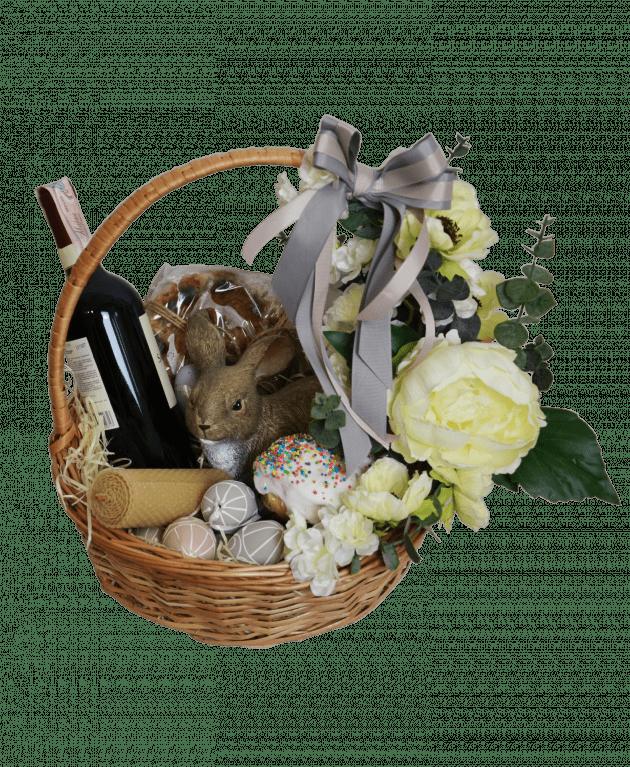 Пасхальний кошик – Інтернет-магазин квітів STUDIO Flores
