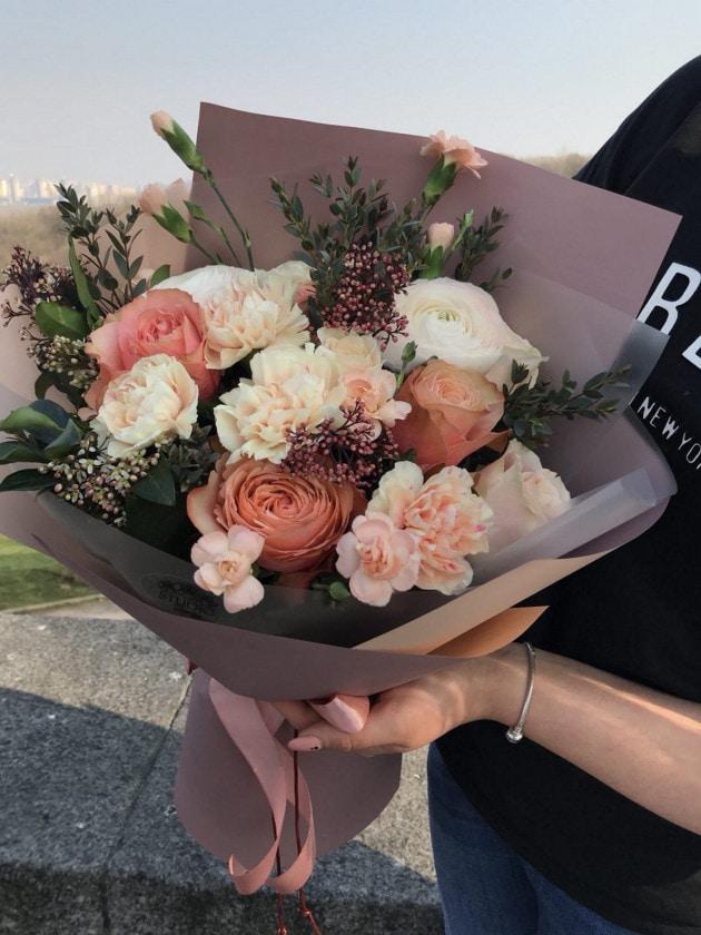 Букет Карамель – Интернет-магазин цветов STUDIO Flores
