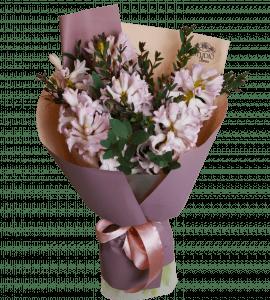 Комплимент с гиацинтами – Інтернет-магазин квітів STUDIO Flores