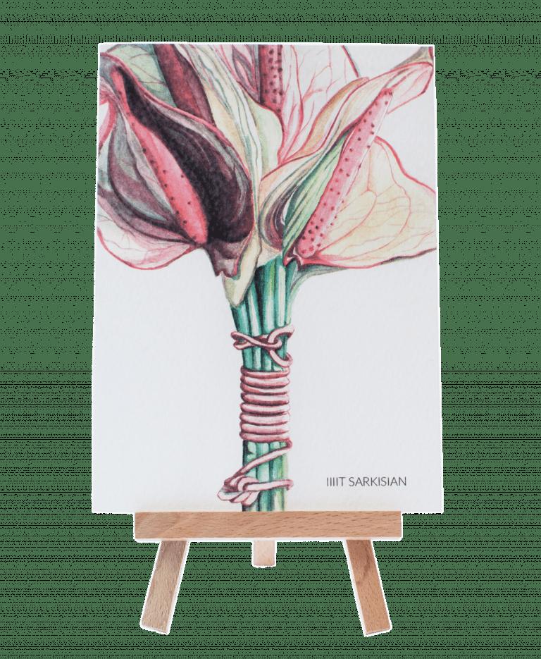 Открытка 2 – Интернет-магазин цветов STUDIO Flores