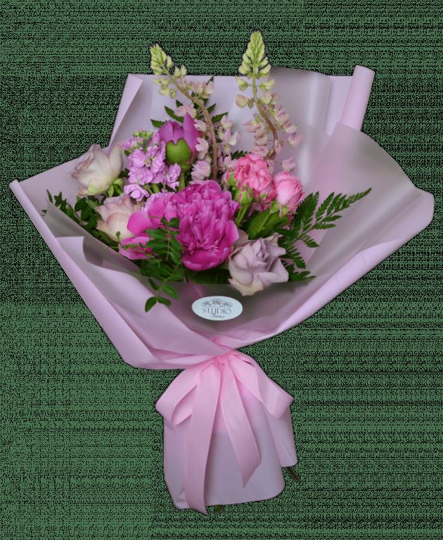 Малиновый коктель – Интернет-магазин цветов STUDIO Flores