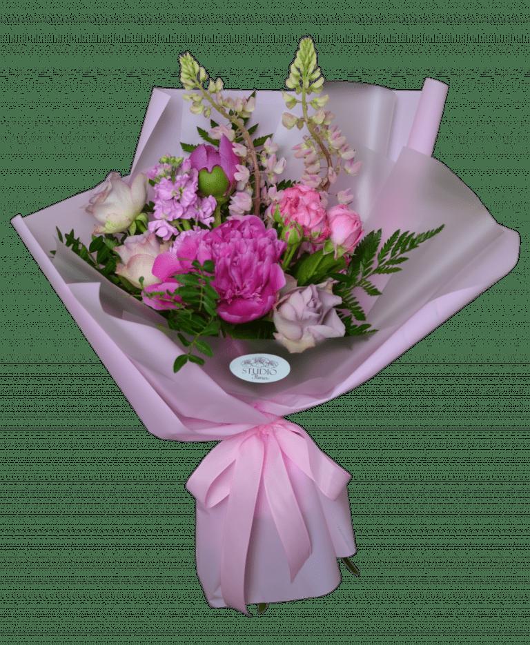 Raspberry cocktail – Flower shop STUDIO Flores