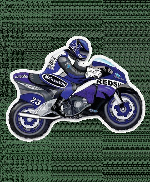 Мотоцикл синий – Интернет-магазин цветов STUDIO Flores