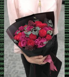 Букет Лесная ягода – Flower shop STUDIO Flores