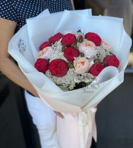 Букет роз 'Мистика' – Интернет-магазин цветов STUDIO Flores